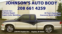 Johnson's Auto Body in Hayden